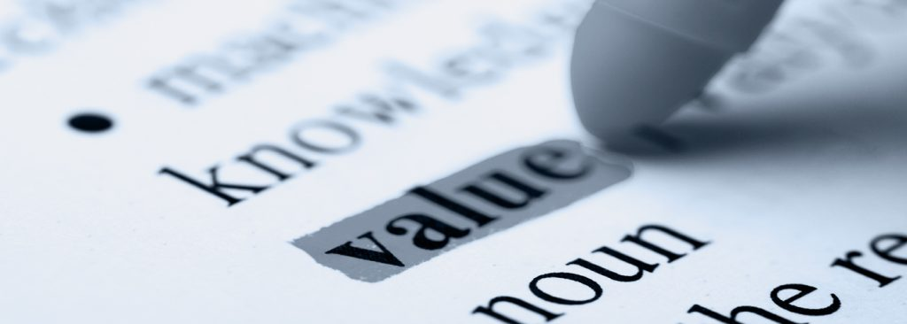 Focus On What Counts Value