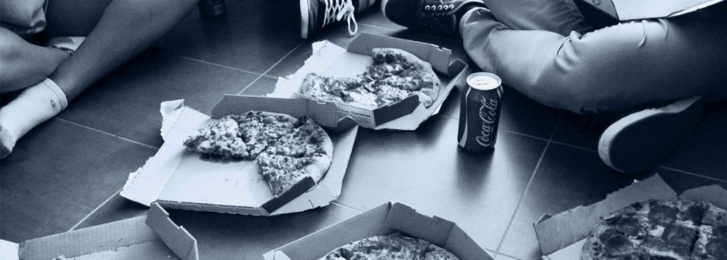 open pizza boxes - How Domino's Pizza Turned into a Technology Company hero image