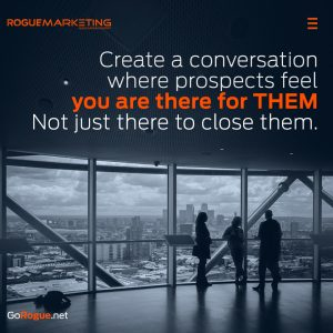 sales conversation rogue marketing quotable