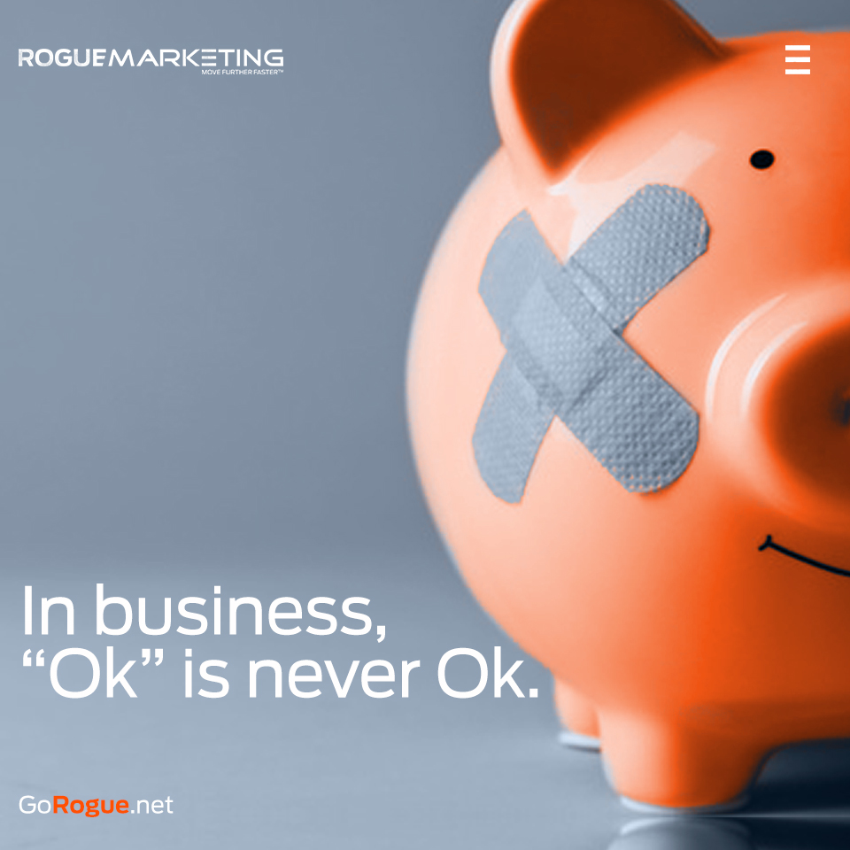 average rogue marketing quotable