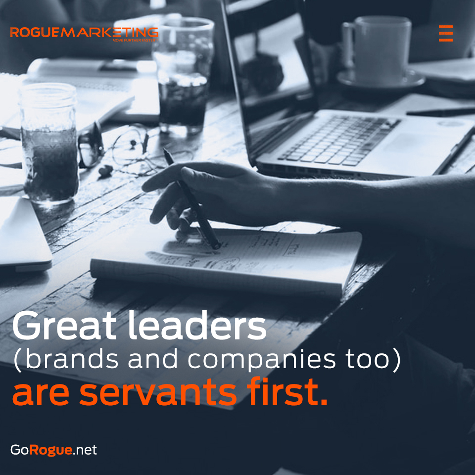 great leaders rogue marketing quotable