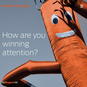 winning attention rogue marketing quotable