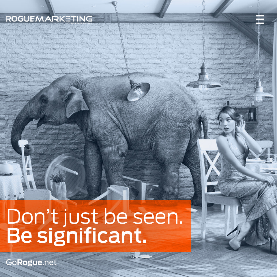 be significant rogue marketing quotable