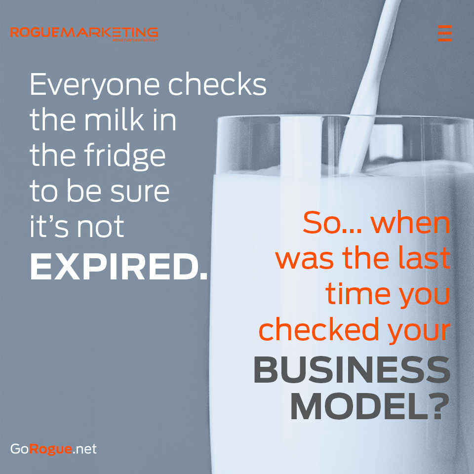 expired business model rogue marketing quotable